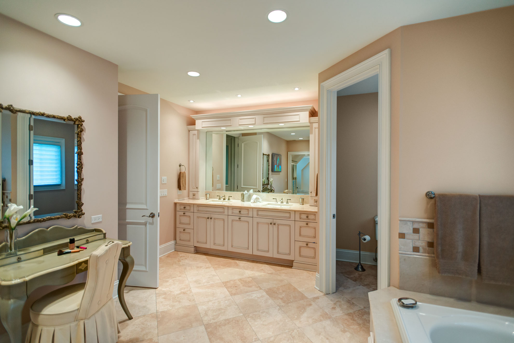 Traditional Master Bath Northbrook Il Better Kitchens