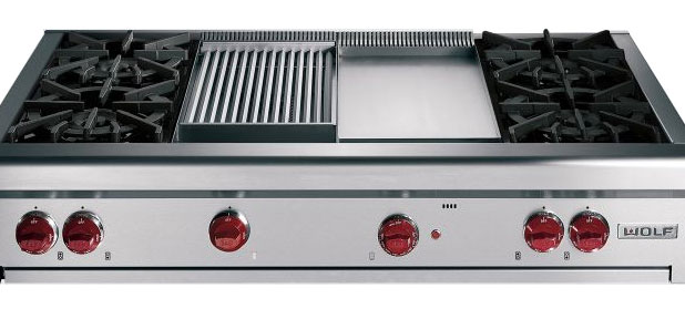 kenmore gas range griddle top wolf cooktop with reviews