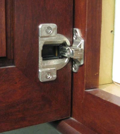 Wood Mode Cabinet Hinge And Adjustment Better Kitchens
